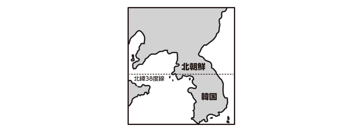 ppt参照/北朝鮮と韓国