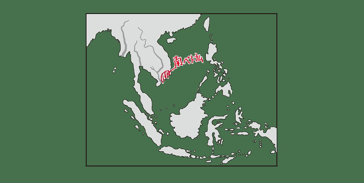 高校世界史 東南アジア前近代史2 ポイント2/地図のみ/書き込みあり