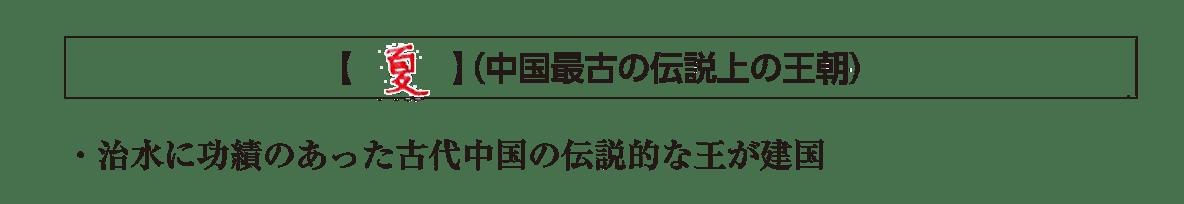 高校世界史 中国の古典文明2 ポイント2前半/夏/答え入り