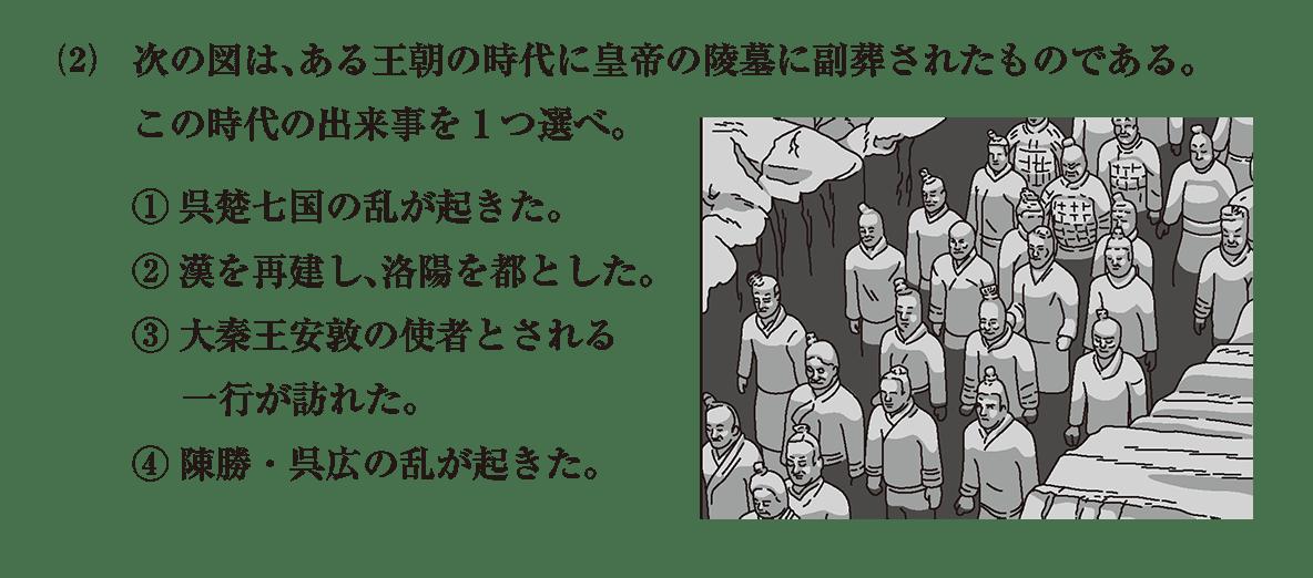 高校世界史 中国の古典文明7 問題3(2)