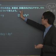 単項式と多項式の計算
