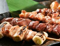 特選 お魚と串の5品コース 何も言わずにとにかく食べてみて!
