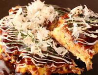 こだわりのさくフワお好み焼き+話題の伊達鶏料理「関西風お好み焼きコース」全6品