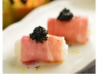 キャビアと生ハムの握り寿司など(全7品)丸かじりコース