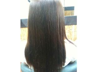 リピーター様用プラン。「髪質改善」の縮毛矯正に、さらにカット・シャンプー・ブローもついて