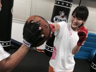 【芸能人・モデルが薦める!キックボクシングでストレス発散&痩せボディ!】 手ぶらでキックボクシング体験!  キックボクシング体験コース60分