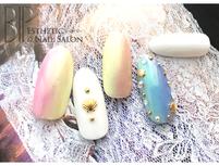 〈トラコレ限定〉大好評の夏ネイル 48種類のデザインから選べるプラン¥3,500(他店オフ無料)