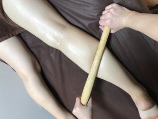 【スッキリ感がやみつきに!?】パワーツリー美脚スリムセラピー×リンパボディ90分