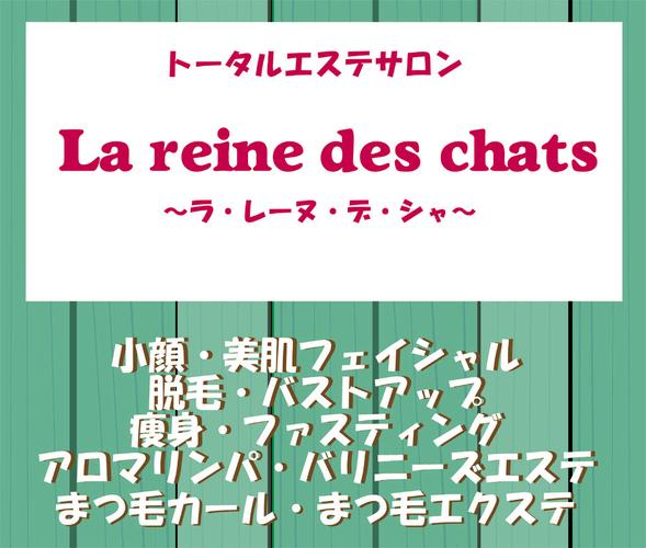 ビューティーなら●猫のいるエステサロン● La main du chat(ラ・マン・ド・シャ)