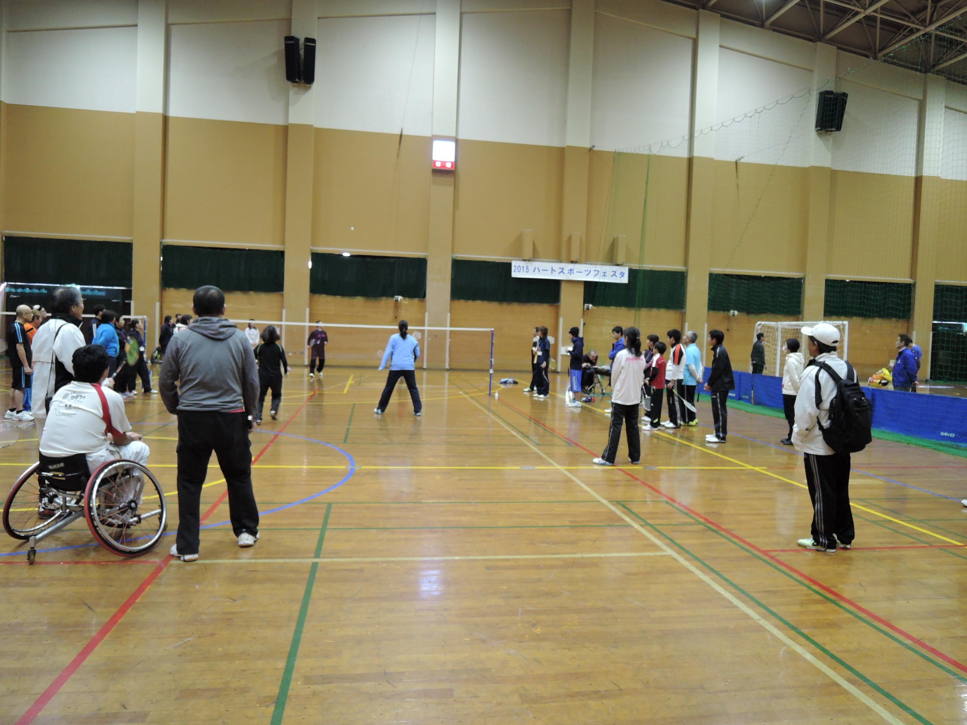 DSCN5540 - 障害者週間記念事業「ハートスポーツフェスタ2015」