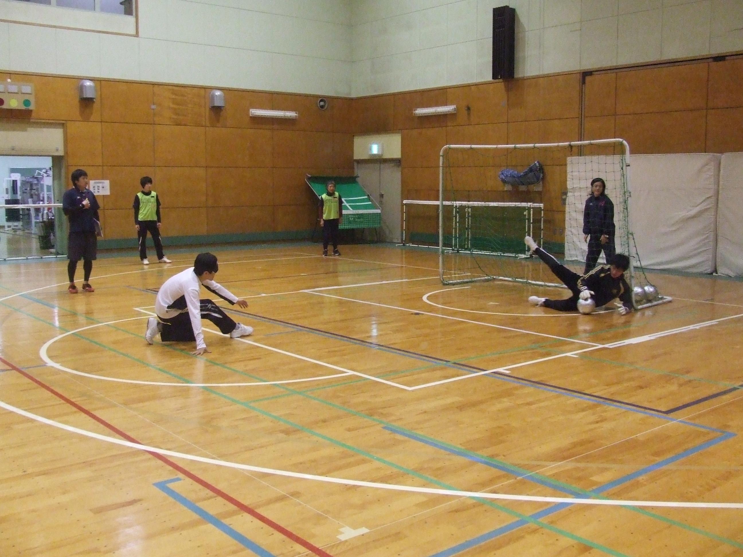 burasaka2.2 - ブラインドサッカー教室2