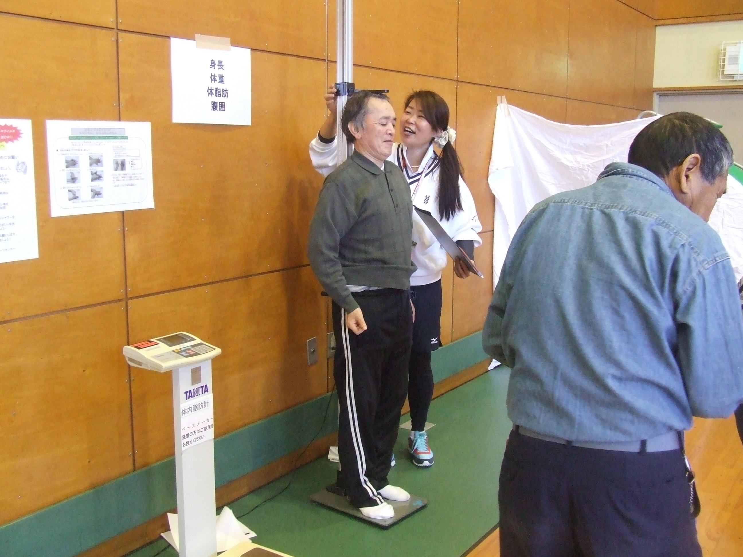 sokutei 2 - 健康運動指導士・介護予防運動指導員による体力測定