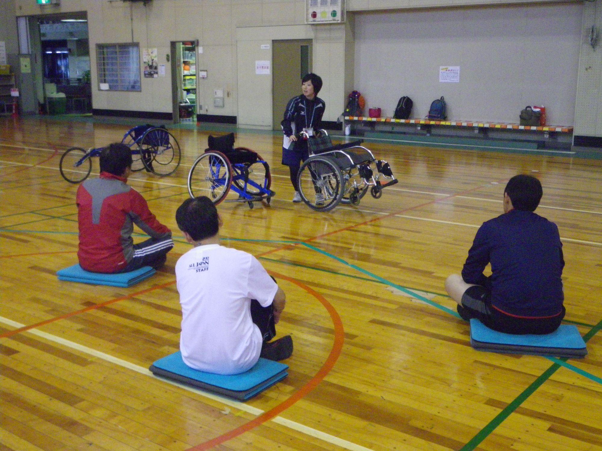 20131027181145 - 「スポーツボランティア入門講習会」より
