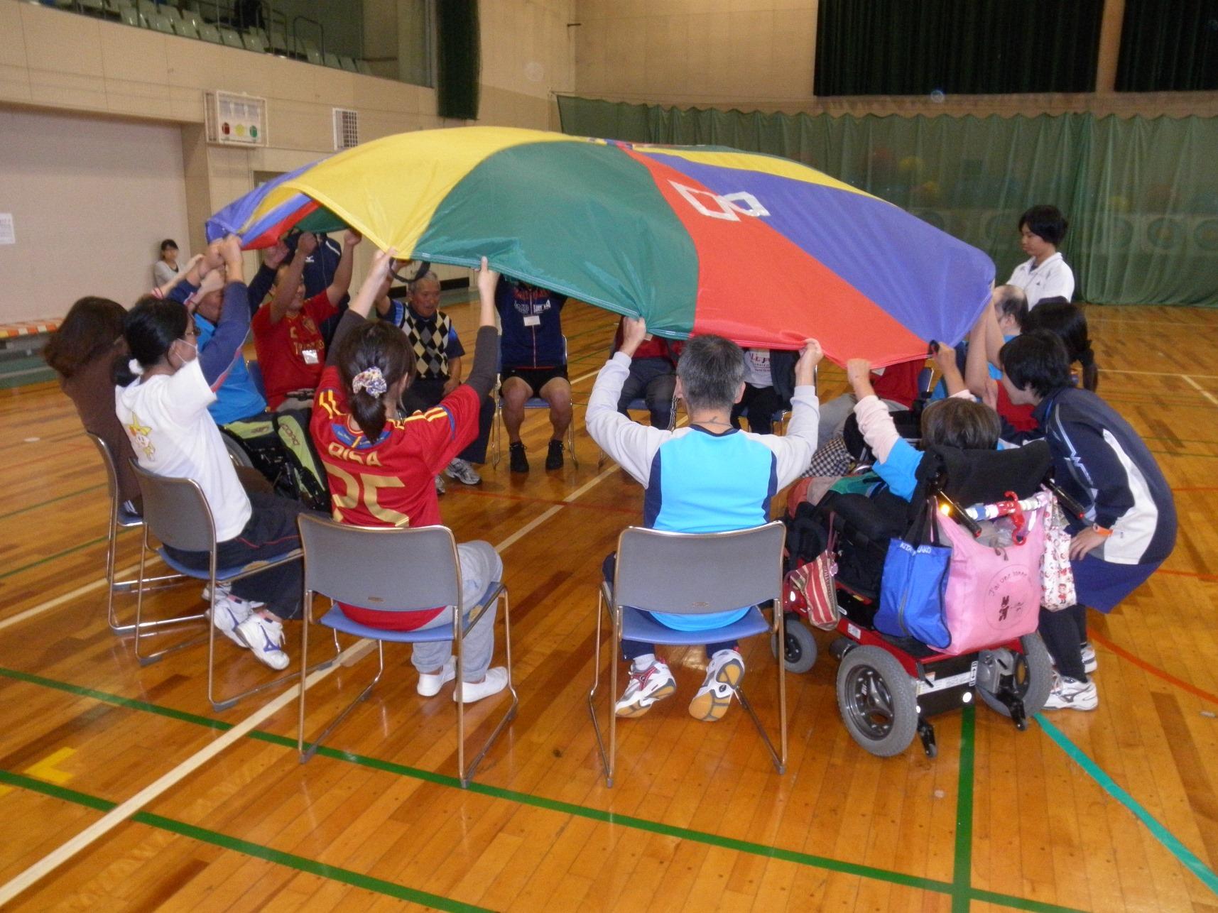 3new - 「スポーツボランティア入門講習会」より