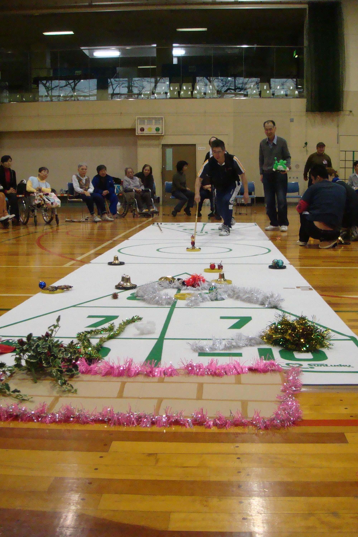 DSC03308 - レクリエーションスポーツ教室より・・・本日はシャフルボード!!