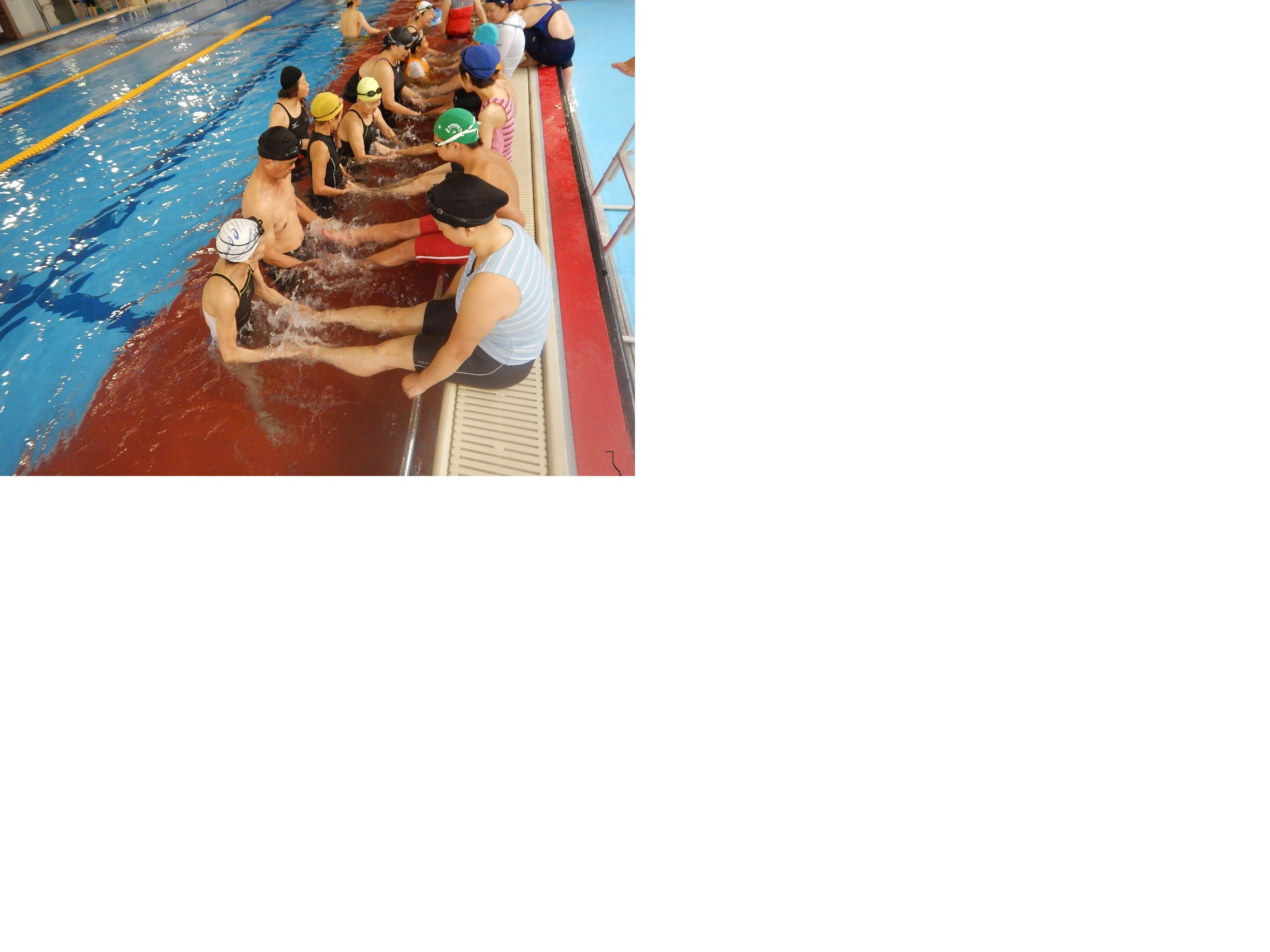 DSCN0781 - 夏休み親子水泳教室を開催しました
