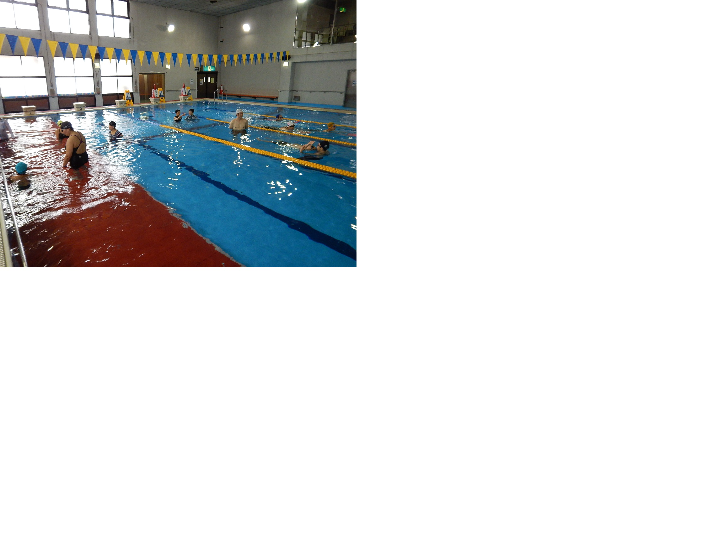 一人ひとり、一生懸命練習しました!泳ぎました!