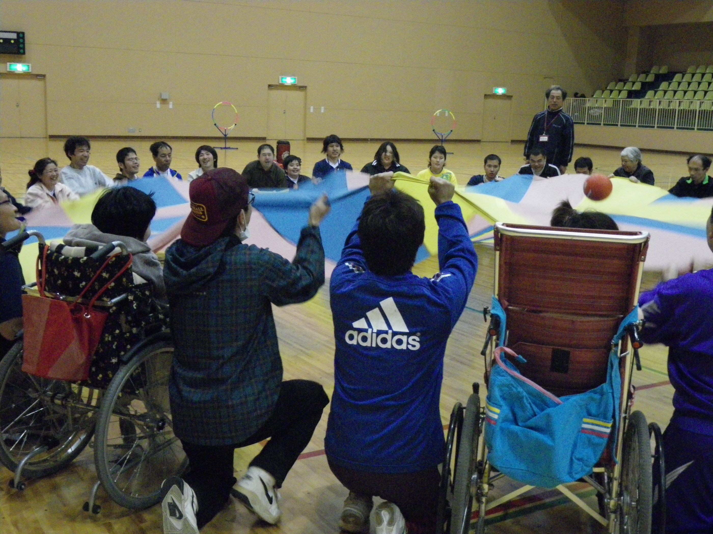 IMGP0057 - 地域支援事業より〜青梅市アダプテッド・スポーツ教室