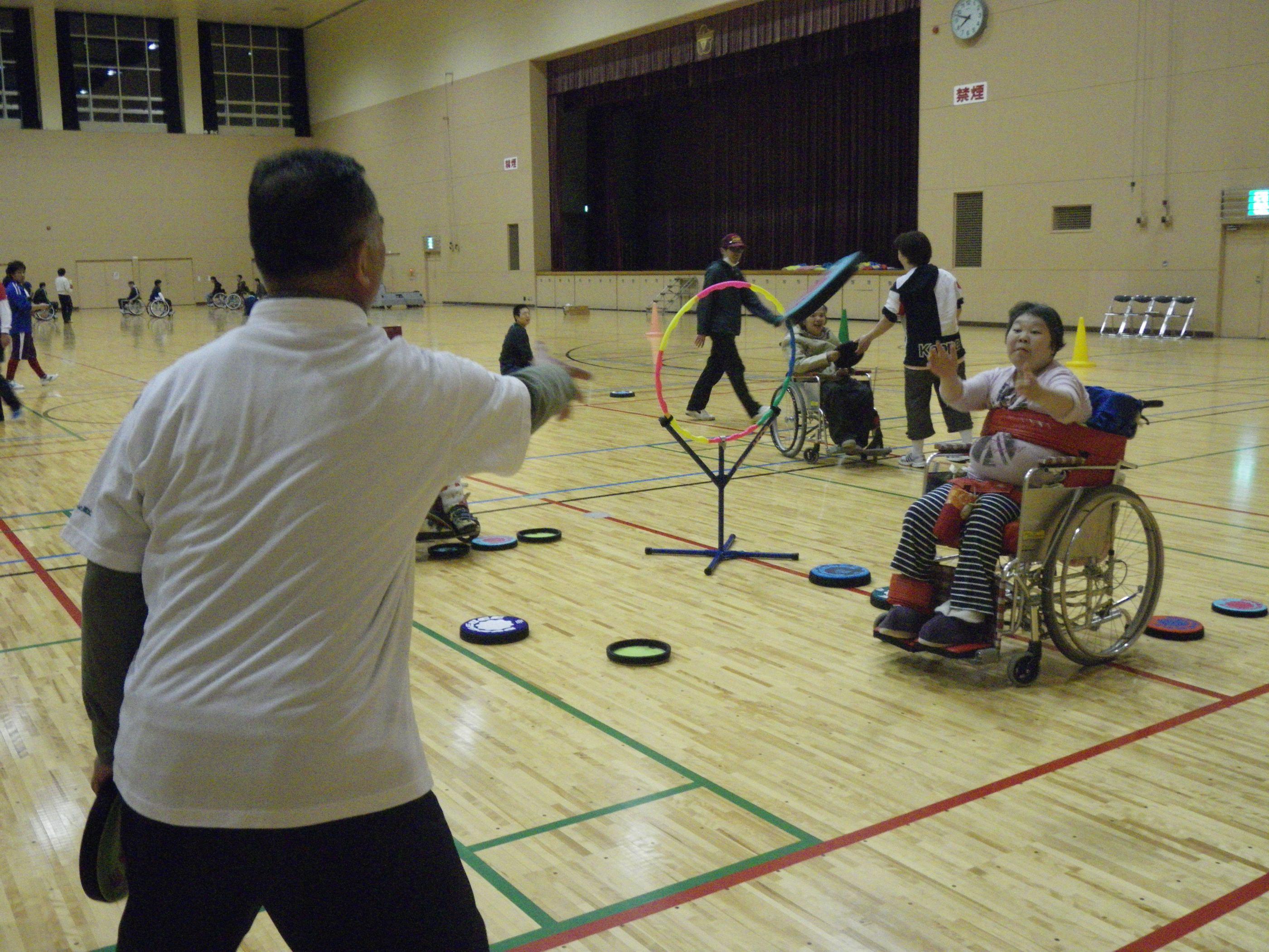 IMGP0072 - 地域支援事業より〜青梅市アダプテッド・スポーツ教室