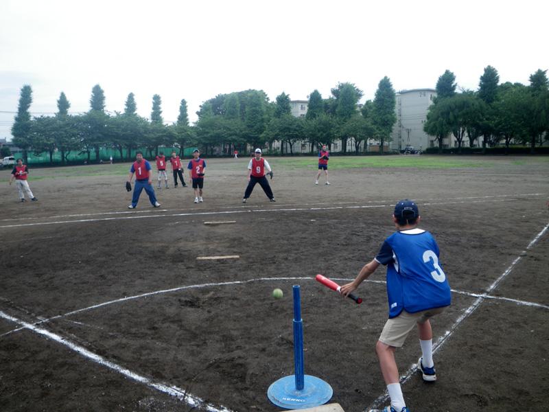 IMGP0181 - ティーボールの広場より ・・・グランドで楽しく打っています。