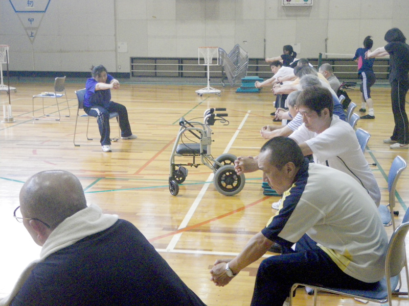 IMGP0207 - 脳血管障害者のトレーニング教室より ・・・教室終わりました。