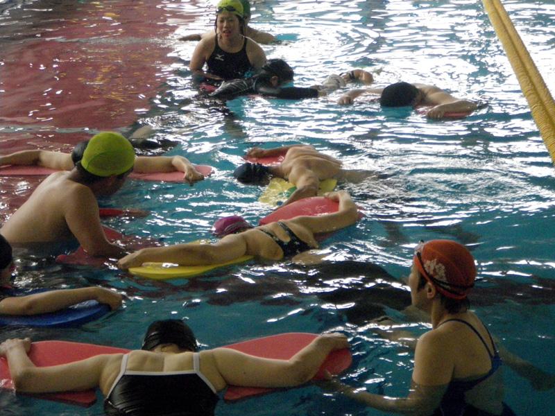 IMGP0264 - 中上級水泳教室より ・・・更に泳力アップを目指します!
