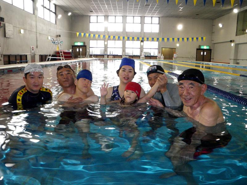 IMGP0386 - 重度障害者のプールのひろばより ・・・昼休みにプールを解放しています。