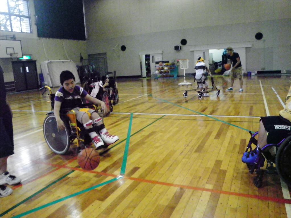 IMGP0663 - ジュニアスポーツ体験教室より ・・・夏の子供たちの体験です。
