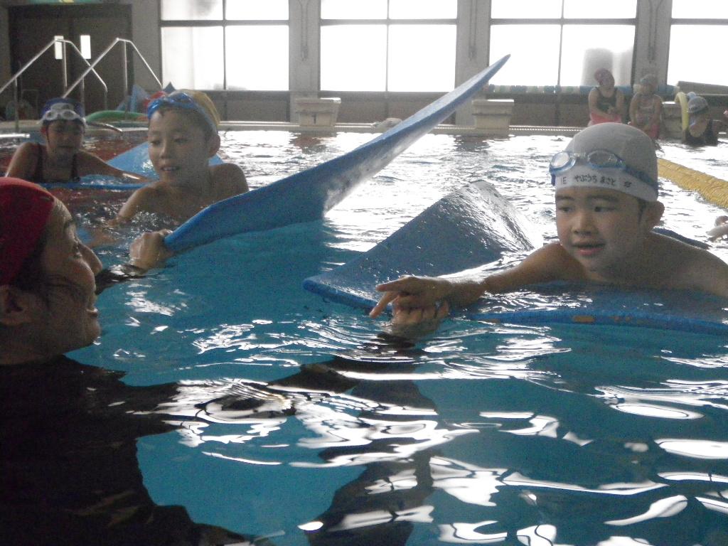 IMGP0797 -  ジュニア短期水泳教室・・・ たくさん泳ぎました!