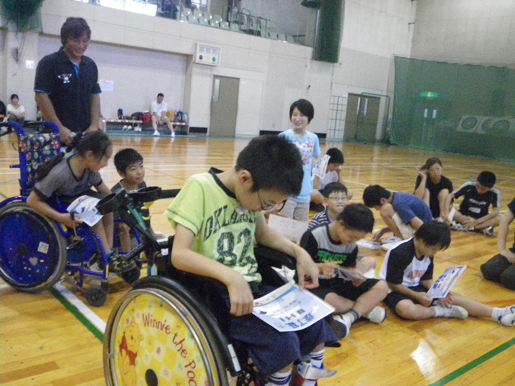 IMGP0907 - ジュニアスポーツキャンプ教室より ・・・夏の子供の教室 センターに一泊した教室です。