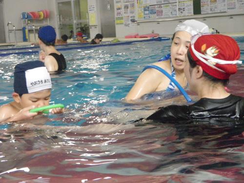 IMGP1275 - 都障水連による水泳教室より ・・・共催で行っています