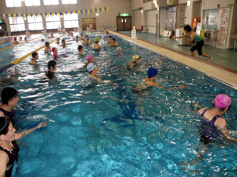 IMGP1775 - 水中運動教室より ・・・水のなかでエクササイズ。