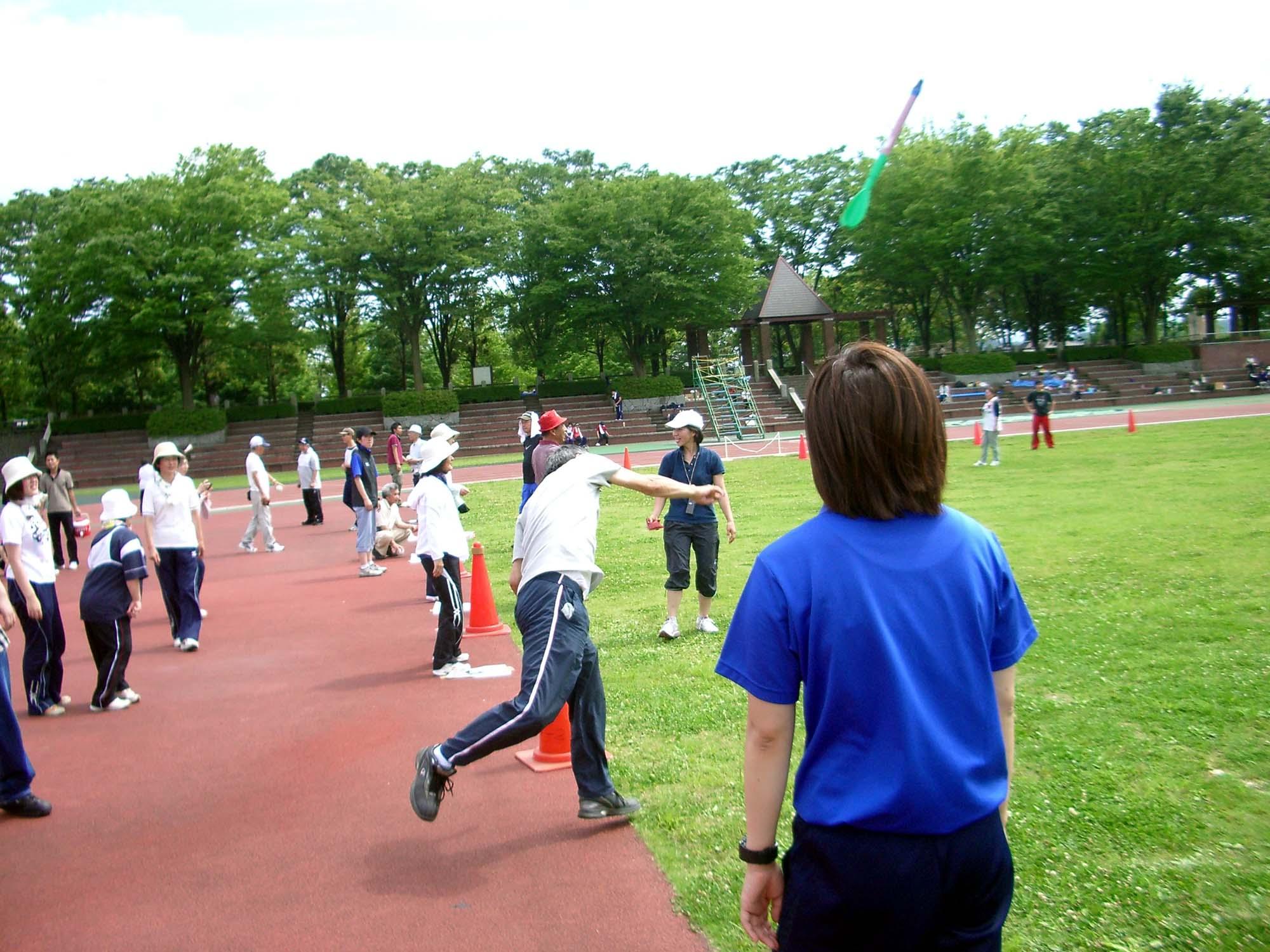 IMGP1900 - 地域支援事業(西多摩地区)より ・・・スポーツ体験を行いました「チャレンジ・ザ・ギネス」。