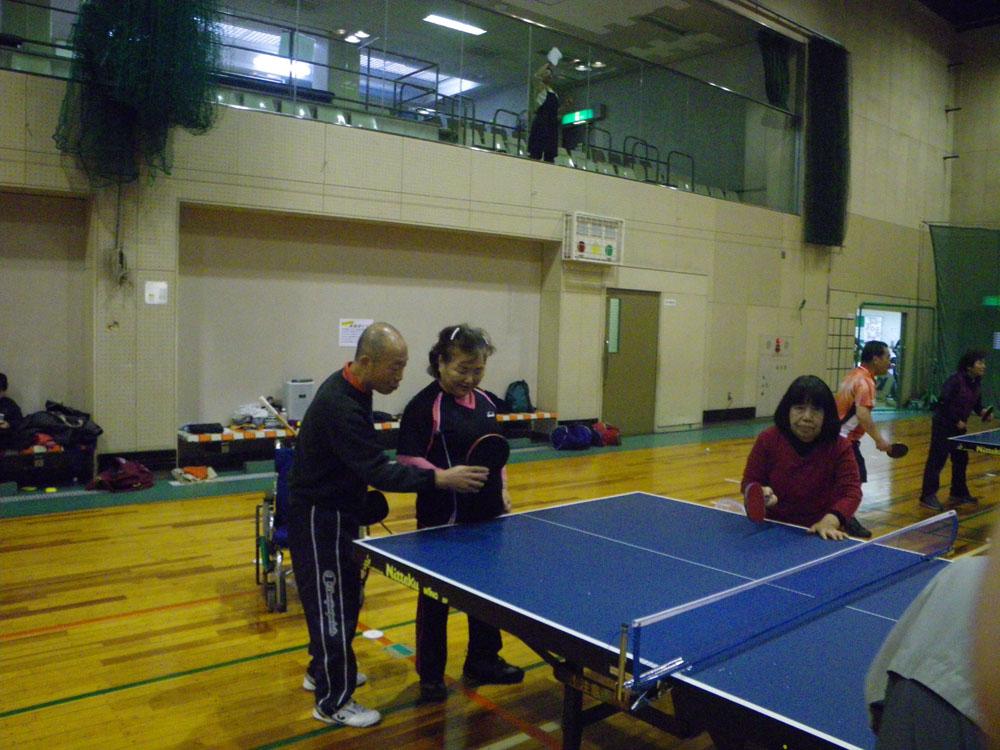IMGP2134 - みんなで卓球より ・・・卓球で交流しましょう。