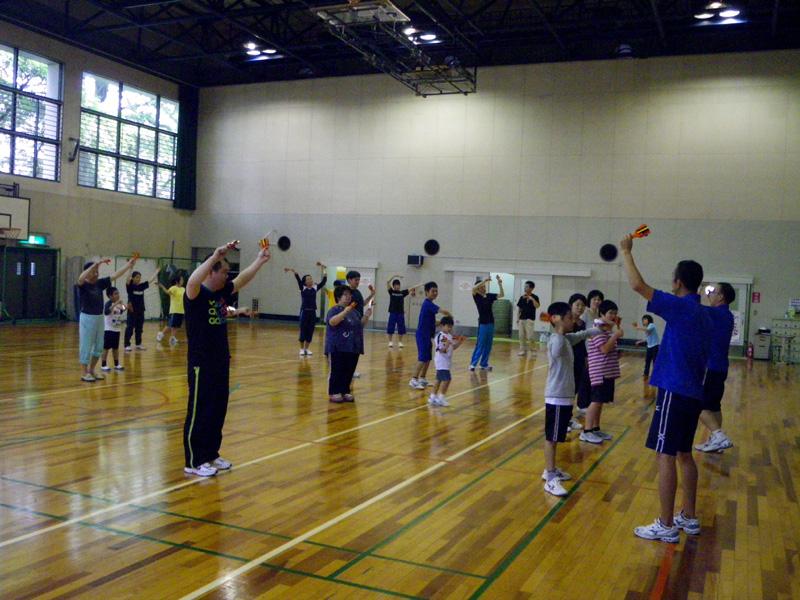 IMGP2165 - リズム体操教室より ・・・楽しく踊っています。