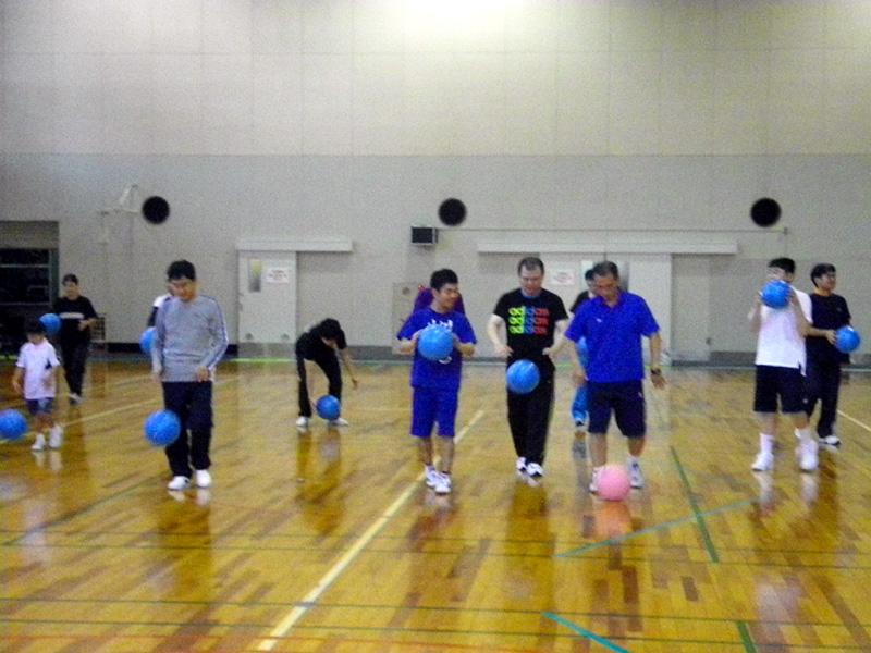 IMGP2183 - リズム体操教室より ・・・楽しく踊っています。