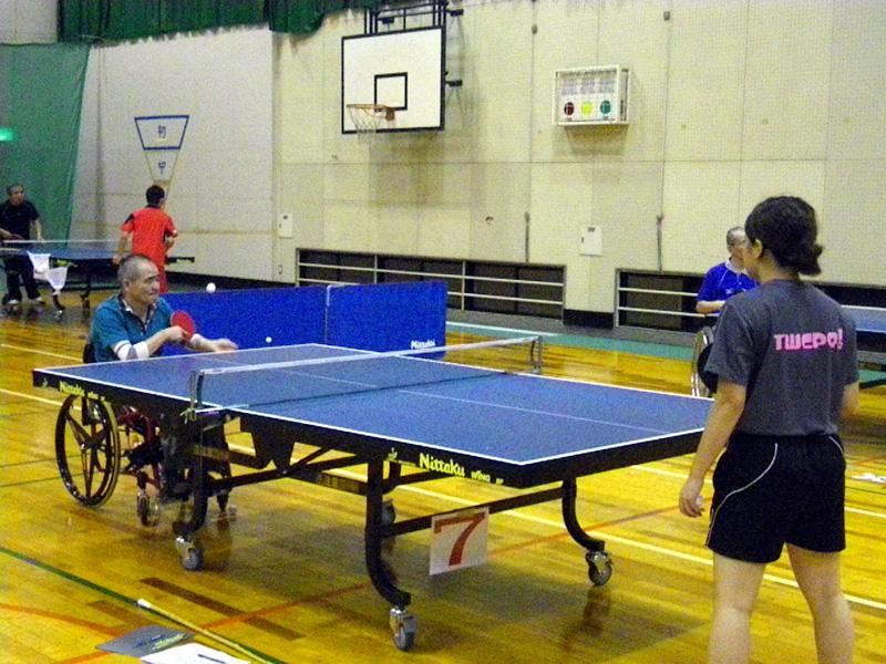 IMGP2185 - 卓球教室より ・・・サーブ練習です。