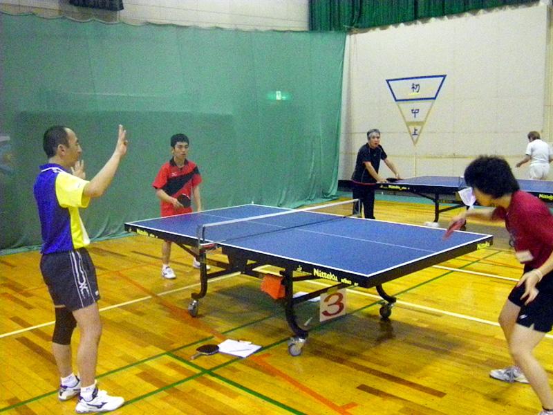 IMGP2215 - 卓球教室より ・・・サーブ練習です。