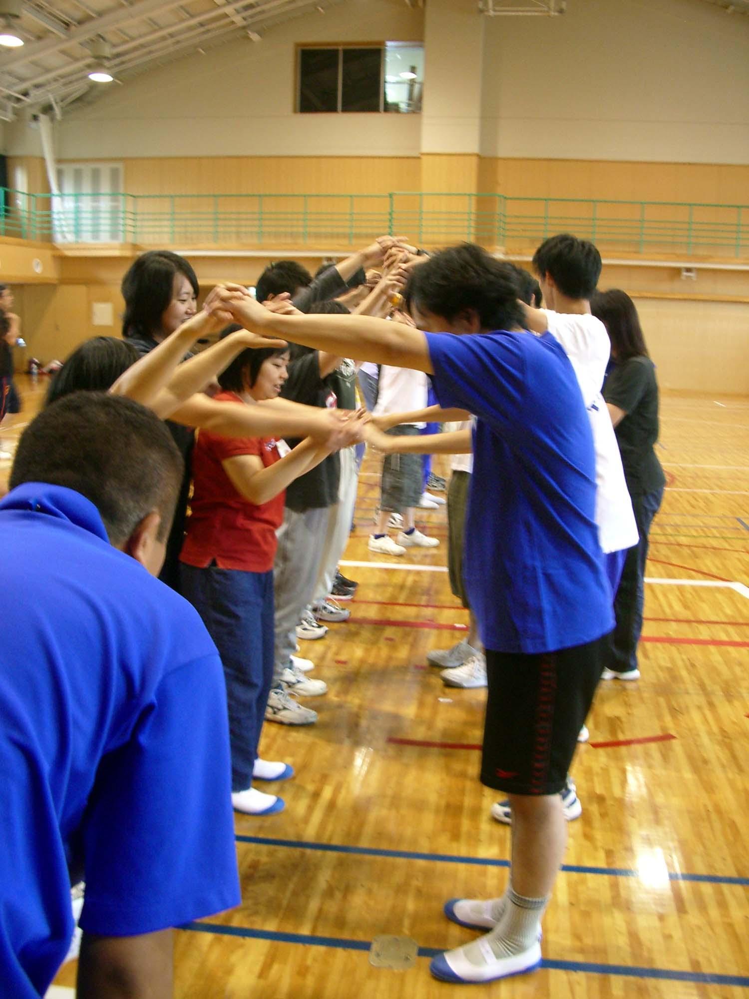 IMGP2547 - 地域支援事業・・・小平市スポーツ教室 〜小平手をつなぐ親の会との協同企画です〜