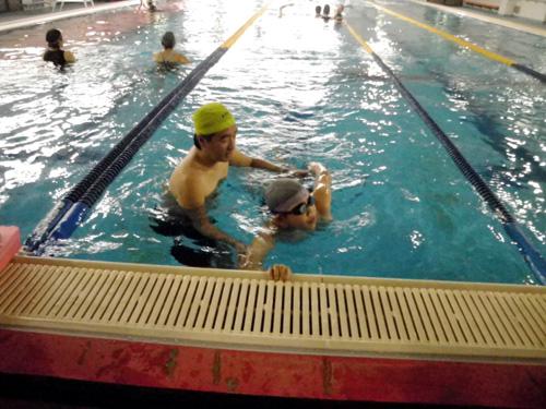 IMGP2862 - 中上級水泳教室より ・・・更に泳力アップを目指します!