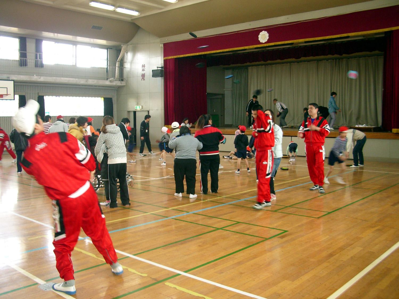 IMGP2993 - 地域支援事業より ・・・瑞穂町スポーツ教室 特別支援学級の子供たちと一緒に行いました