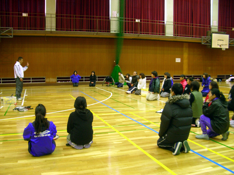 IMGP3209 -  地域支援事業より・・・ 初級障害者スポーツ指導員講習会を開催しています