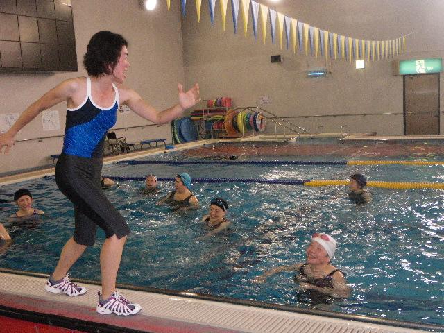 IMGP3645 - 水中運動教室より ・・・水のなかでエクササイズとレクリエーション。
