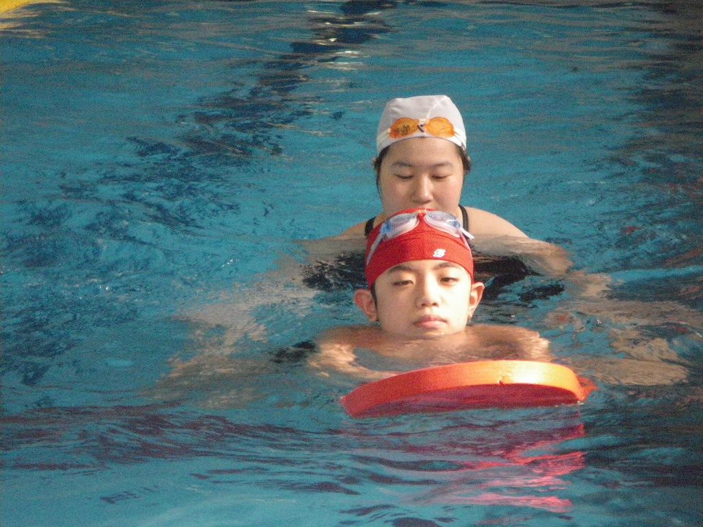 IMGP4338 - 都障水連による水泳入門教室より