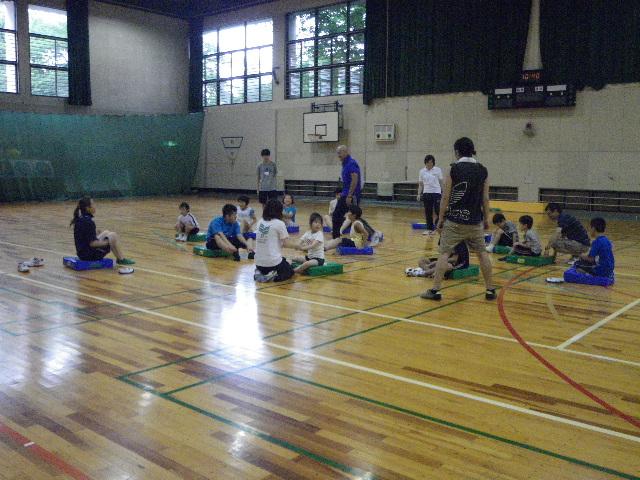 IMGP5964 - ジュニアスポーツ体験教室(知的)より ・・・スポーツを体験しました。