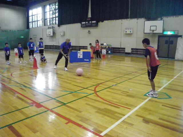 IMGP5973 - ジュニアスポーツ体験教室(知的)より ・・・スポーツを体験しました。