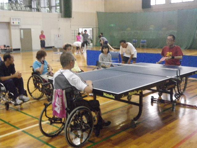 IMGP6029 - 障害者スポーツ体験教室より ・・・4つのスポーツを体験しました。
