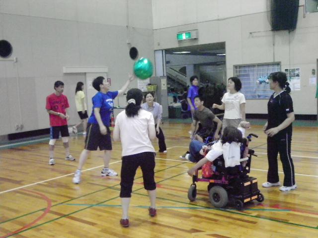 IMGP6032 - 障害者スポーツ体験教室より ・・・4つのスポーツを体験しました。