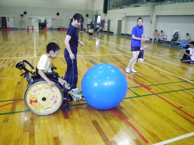IMGP6091 - ジュニアスポーツ体験教室(身体)より ・・・スポーツを体験しました。