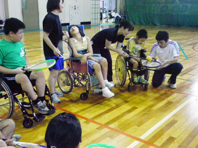 IMGP6104 - ジュニアスポーツ体験教室(身体)より ・・・スポーツを体験しました。